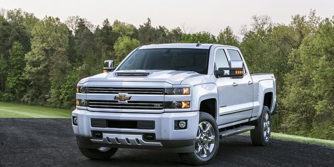 The 2017 Chevrolet Silverado HD features an all-new, patented ai