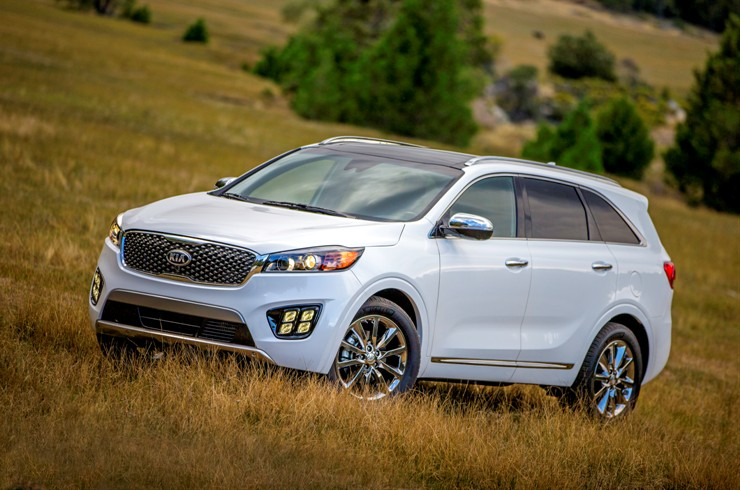 New 2016 Sorento to debut at Los Angeles Auto Show