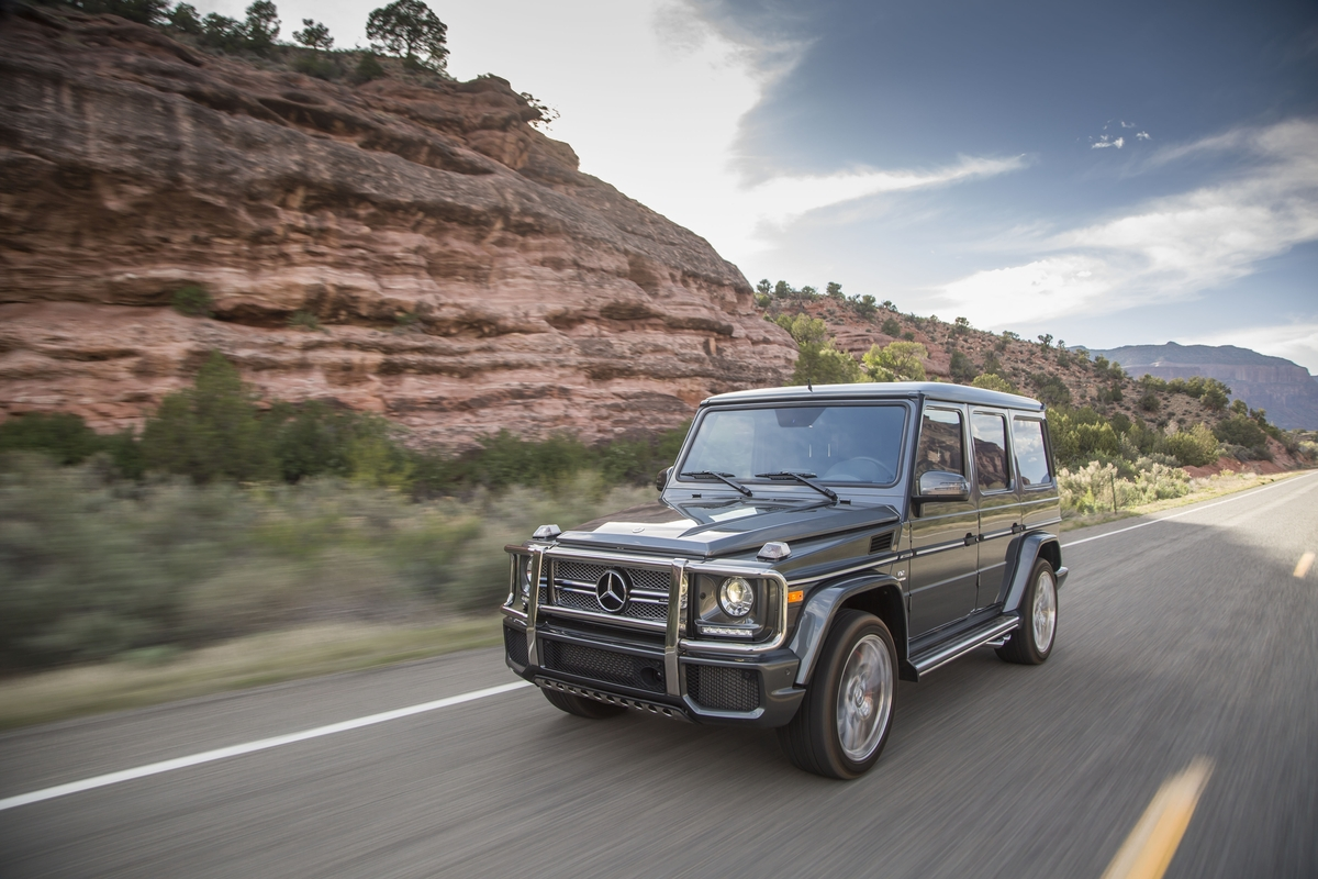 The 2016 Mercedes-AMG G65