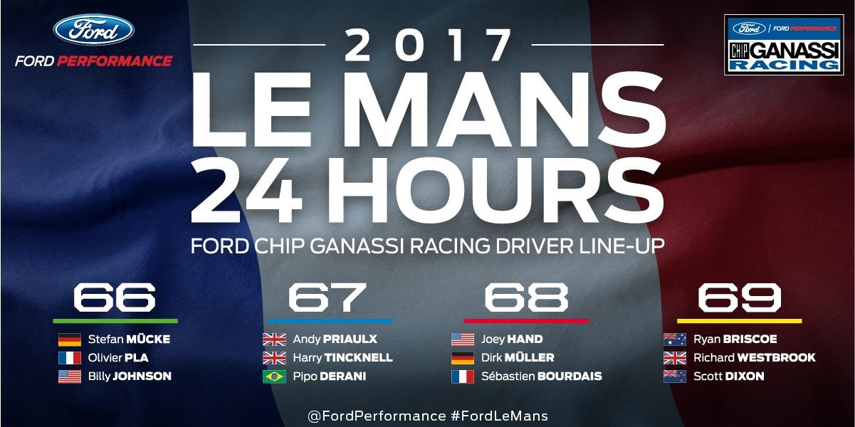 2017 Le Mans Drivers infographic