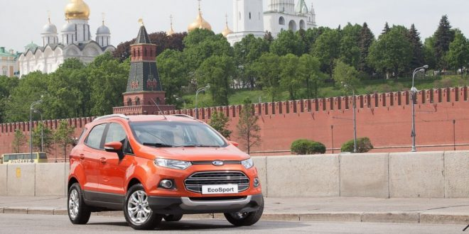 Ford-EcoSport-outside-the-Kremlin-Moscow-