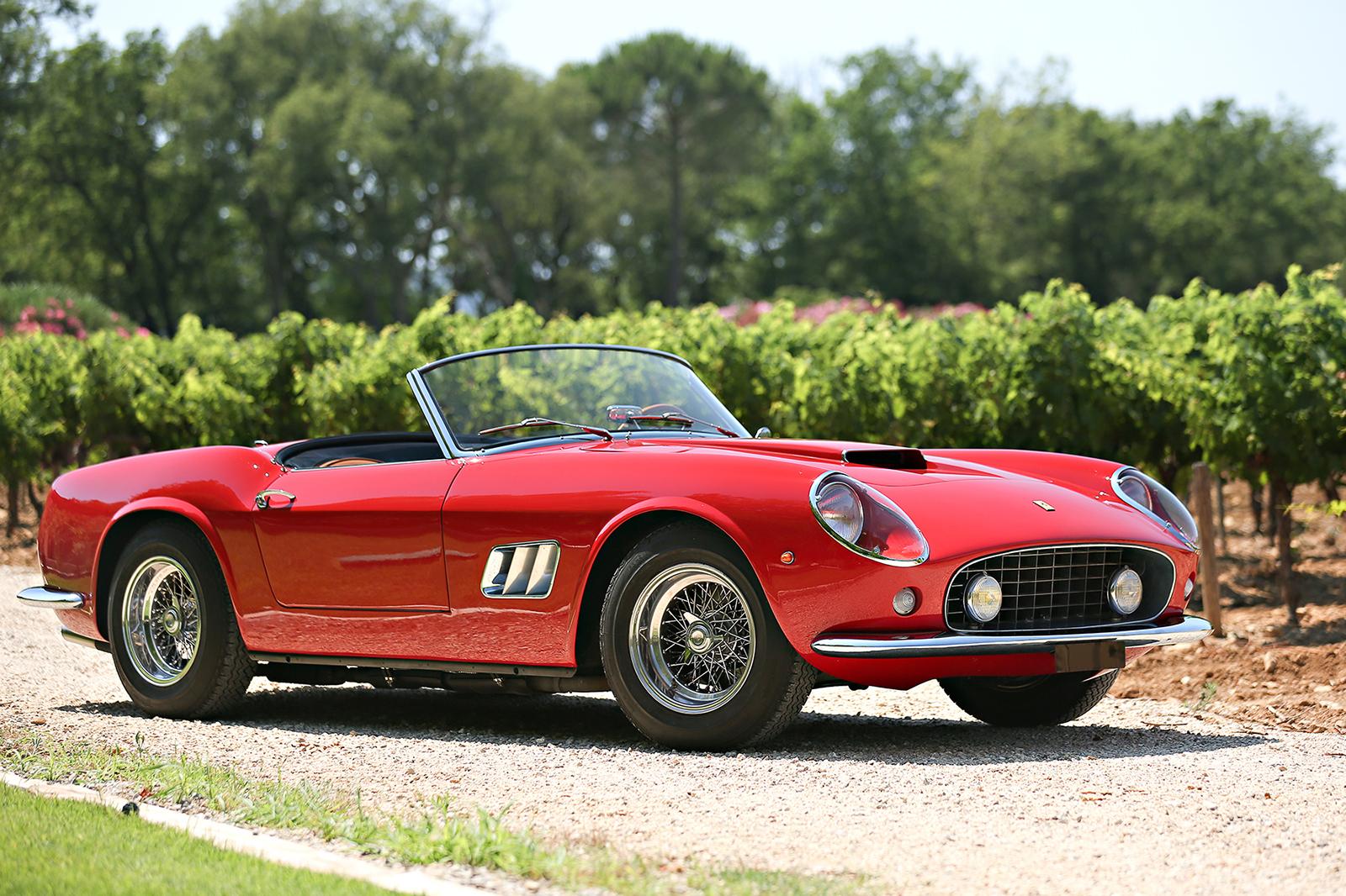 9. Ferrari 250 GT SWB California Spider