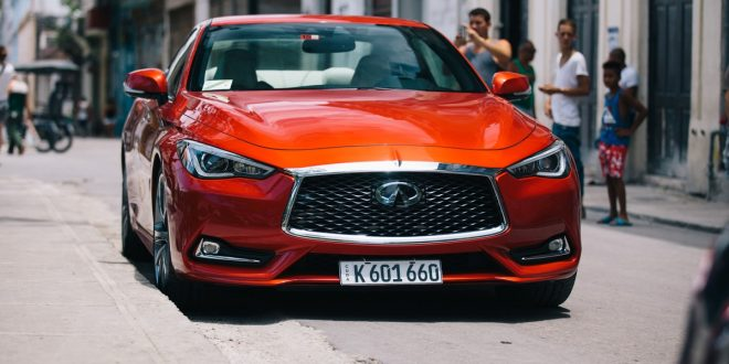 INFINITI brings first U.S. vehicle to Cuba in 58 years