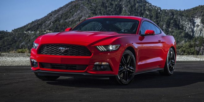 6. Ford Mustang EcoBoost 2.3L turbocharged I4 (1)