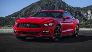 6. Ford Mustang EcoBoost 2.3L turbocharged I4