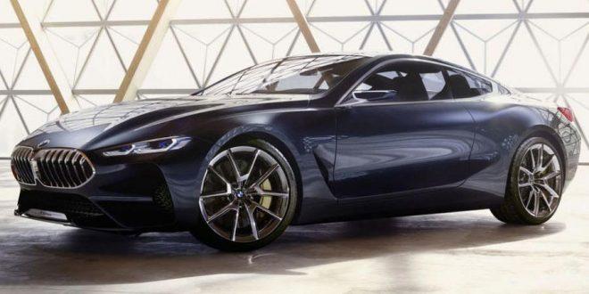 Antes de su presentación se filtran imágenes del nuevo BMW Serie 8