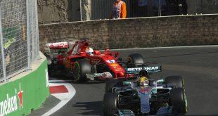 Mientras Vettel y Hamilton chocaban, Ricciardo gana con Red Bull el gran premio de Azerbaiyán