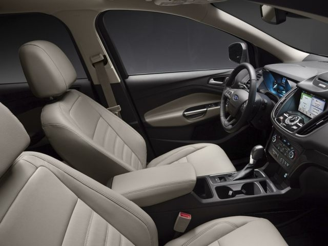 2017 ford escape inside