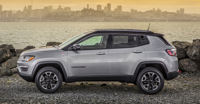 All-new 2017 Jeep® Compass Trailhawk