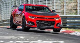 El Camaro ZL1 1LE establece una nueva marca en Nürburgring