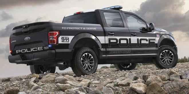 """Ford revela la """"F-150 Police Responder"""" la primera pick up de persecución policial"""