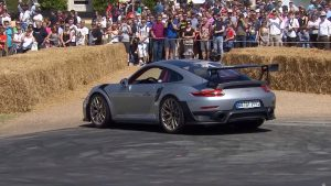 911 GT2 RS en el Goodwood Festival of Speed 2