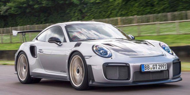 911 GT2 RS en el Goodwood Festival of Speed