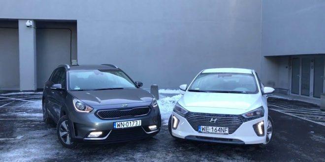 Kia Niro y Hyundai Ioniq