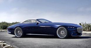 Mercedes mostró un Maybach art deco en el Pebble Beach Concours d'Elegance