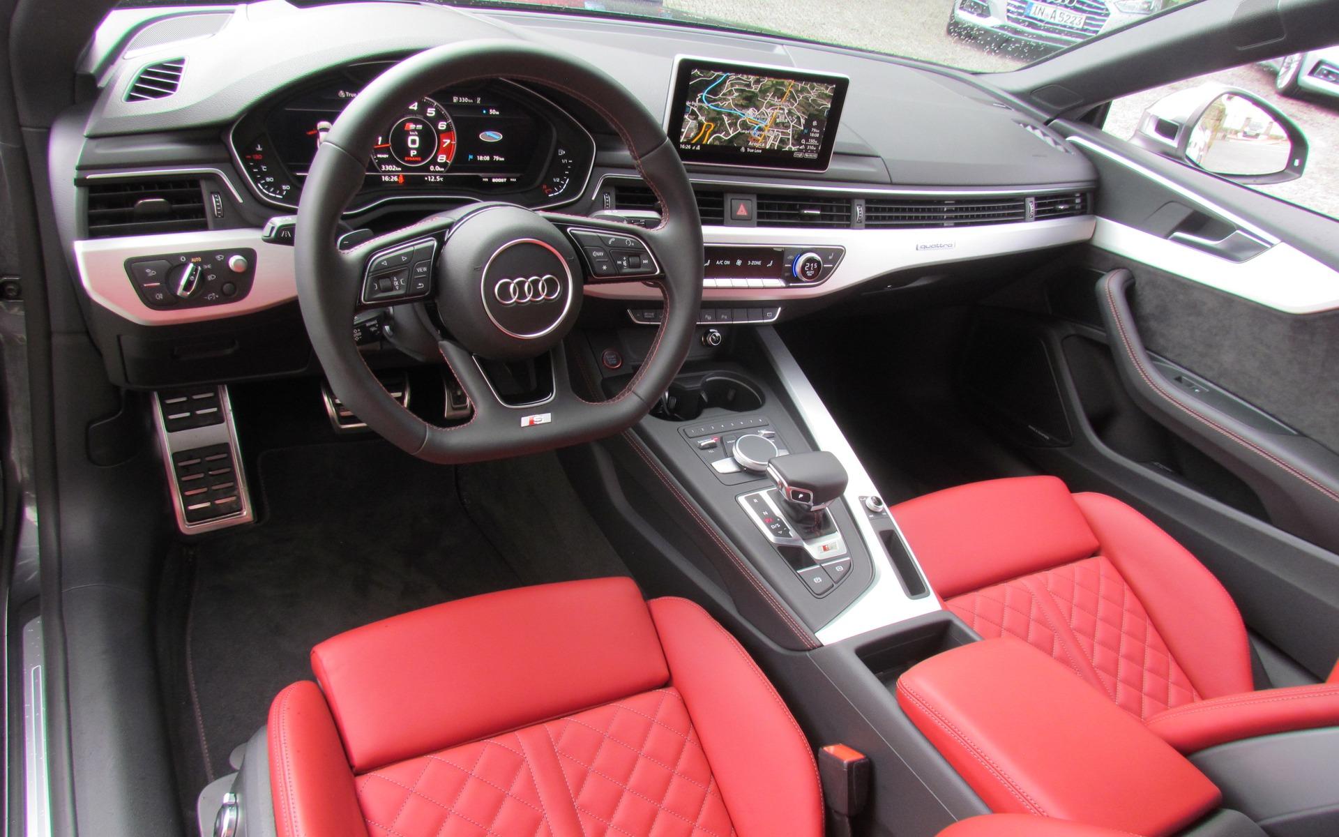 2018_Audi_A5 inside
