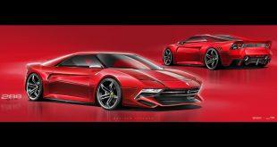 Como nos imaginamos las Ferraris del 2020 en el mundo virtual
