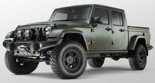 Ya se sabe que motor llevará la nueva pick up basada en el Jeep Wrangler