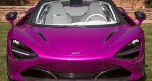 Con dinero, hasta el color de un McLaren 720S se puede modificar