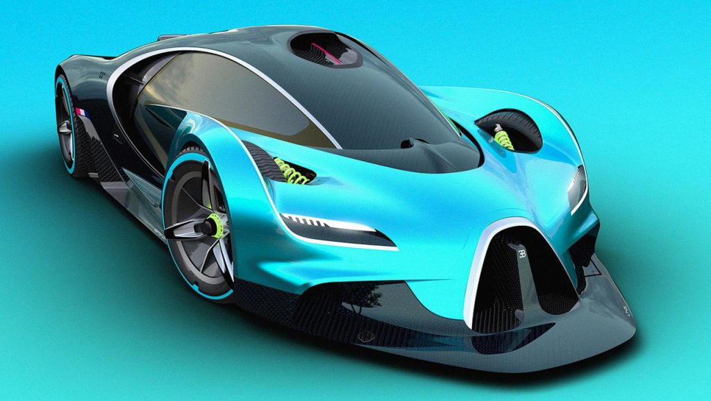 Como Sera El Futuro Hiper Auto De Bugatti Que Reemplazara Al Chiron