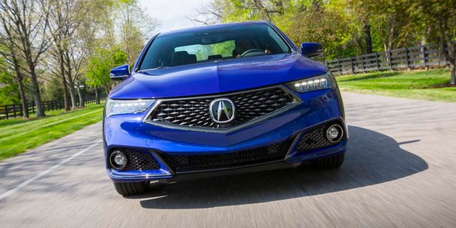 Prueba de manejo, Acura TLX del 2018