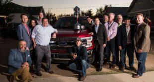 """Ford obtiene nuevamente los máximos honores en """"El Rodeo Anual de Camiones de la Asociación de Escritores de Automóviles de Texas"""""""