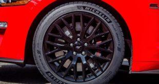 El Mustang GT del 2018 calzará neumáticos especiales Michelin Pilot Sport 4S de alto rendimiento