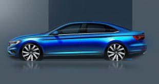Volkswagen dio un adelanto de como será el Jetta del 2019 que presentarán en Detroit