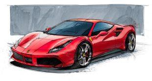 Ferrari quiere darle pelea en las carreras europeas rediseñando la 488GTB