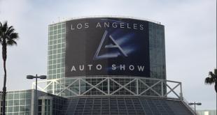 Llegamos a Los Angeles para asistir al Auto Show.