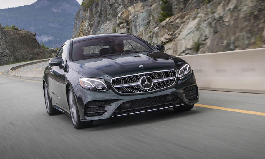 Prueba de manejo mercedes benz e400 coupe 2018 puros autos for Mercedes benz modelos