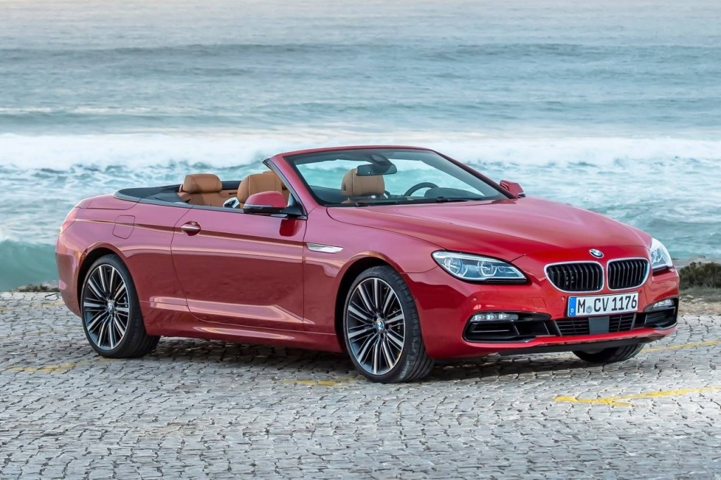 BMW 650i Convertible prueba de manejo