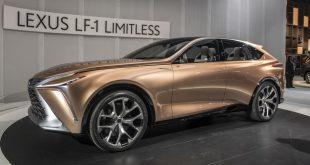 "Lexus muestra en Detroit el concepto ""LF-1 Limitless"""