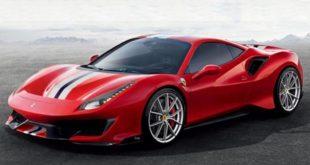 Se filtran imágenes de la Ferrari 488 antes de su debut en Ginebra