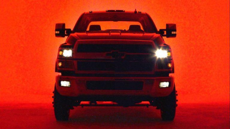 General Motors Mostr Las Nuevas Silverado De Carga Pesada