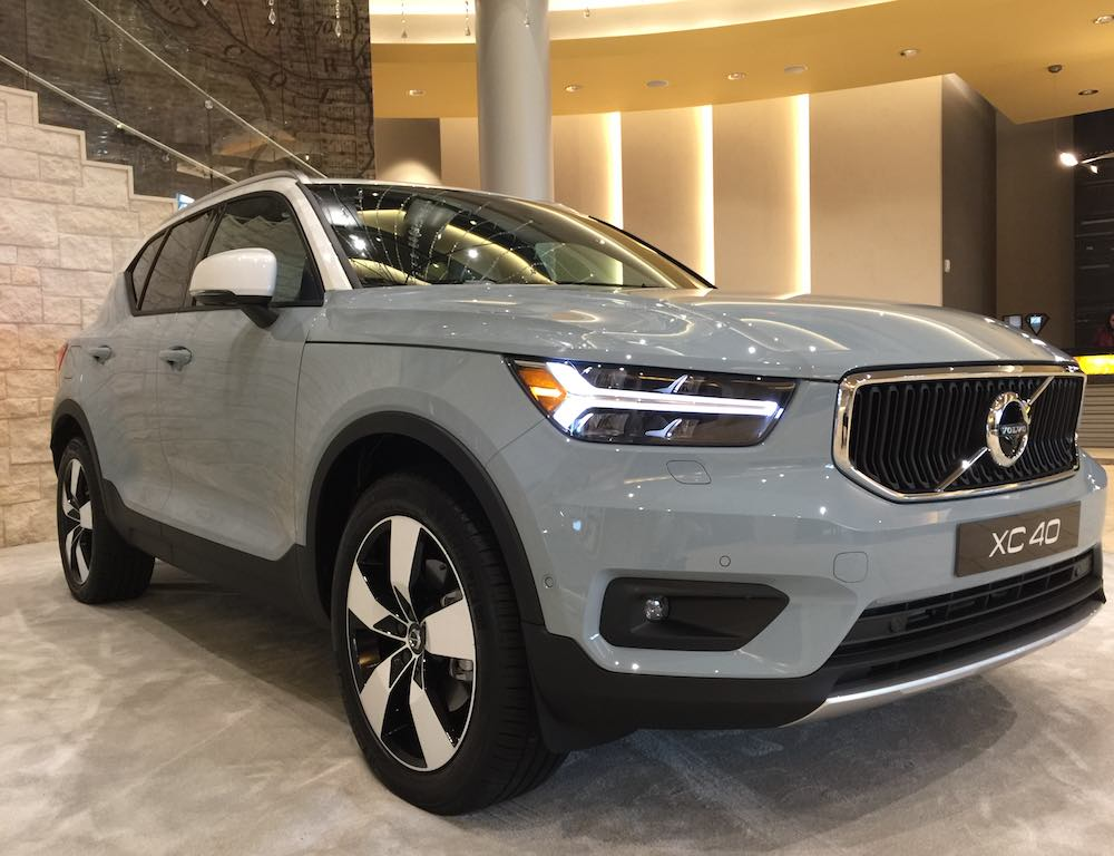 the new 2019 volvo xc40 puros autos. Black Bedroom Furniture Sets. Home Design Ideas