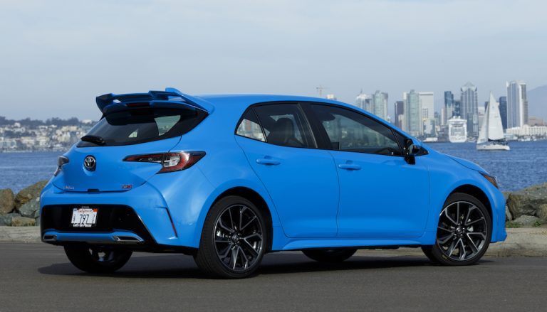 Toyota Corolla Hatchback 2019 Presentado En San Diego
