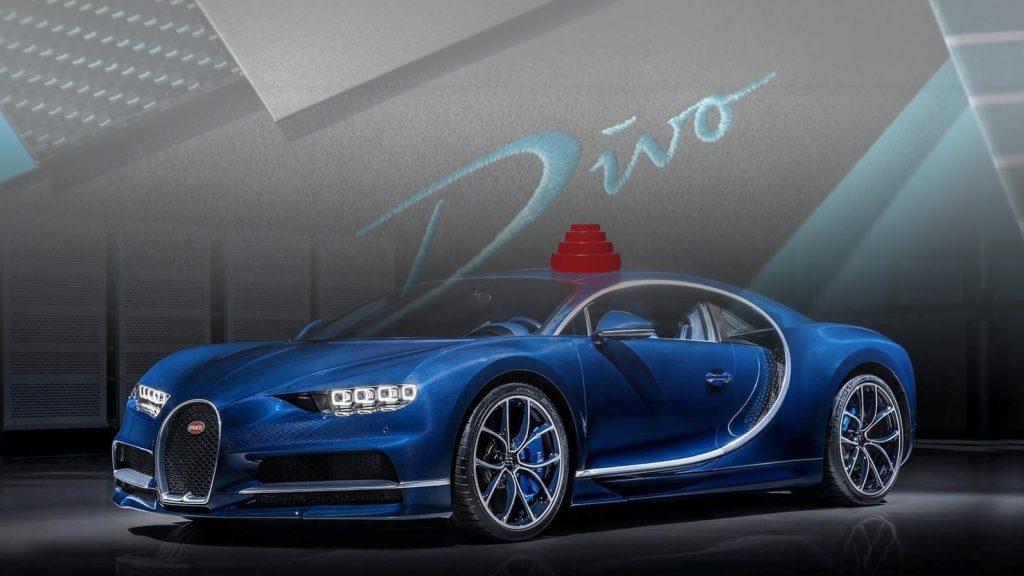 Todos los detalles del Bugatti Divo en imágenes