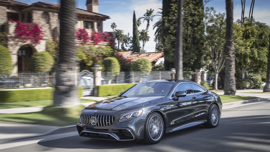 2018 Mercedes Benz AMG S63 Coupe