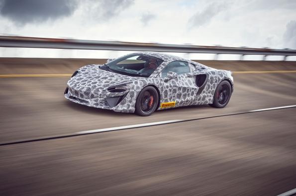 Nueva era en McLaren: aquí está su primer superdeportivo híbrido
