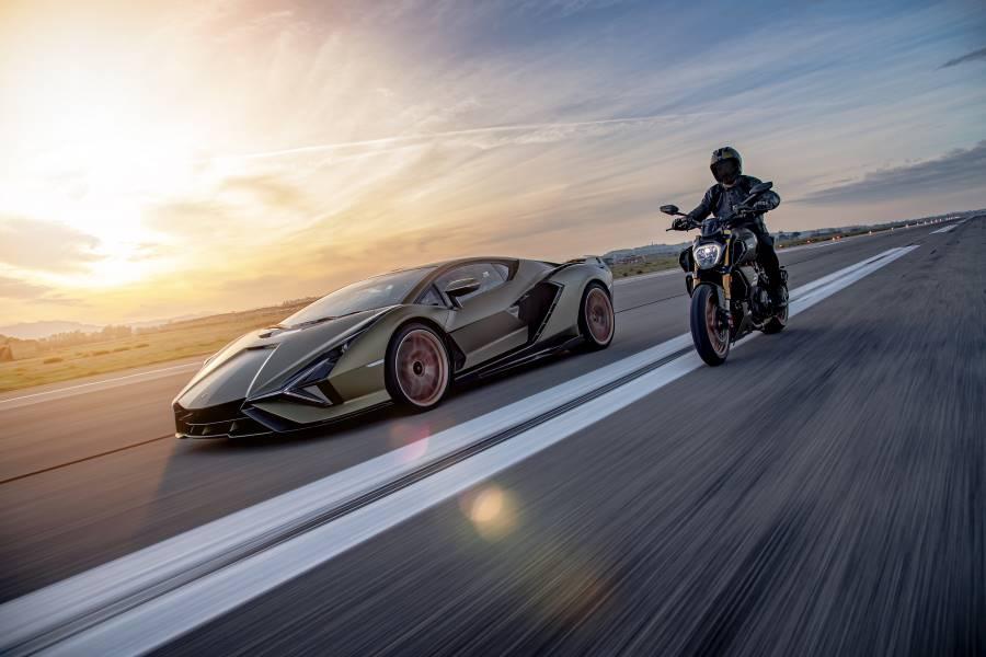 Lamborghini y Ducati unen fuerzas crean moto edición limitada