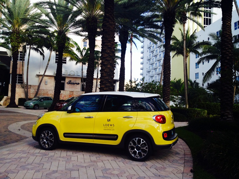Chauffeur-driven Fiat 500L service rolls out in March 2014 at Lo