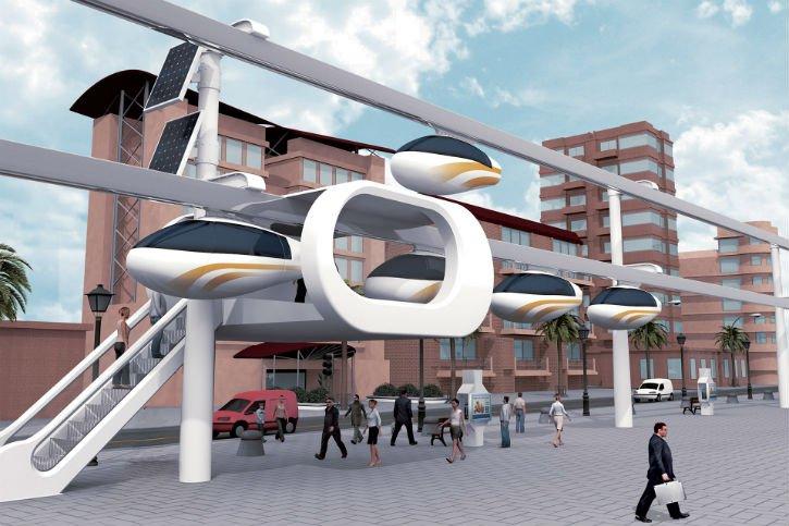 Sky-Tran-voitures-volantes-Tel-Aviv