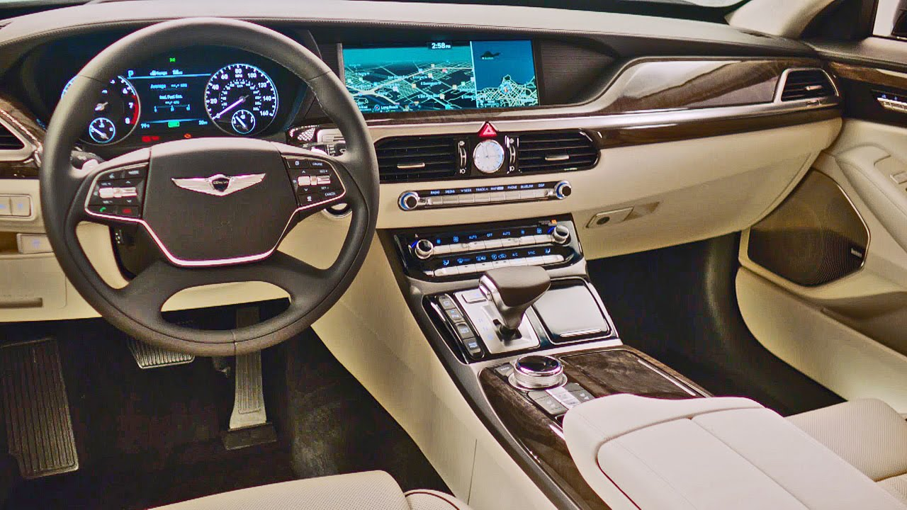 2017-Genesis-G90-.interior