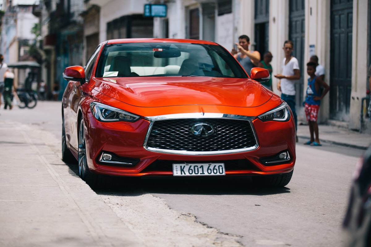 INFINITI brings first U.S. vehicle to Cuba in 58 years
