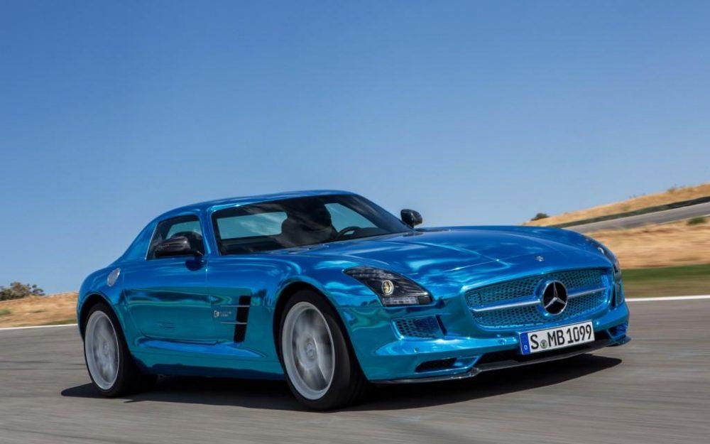 Mercedes electric drive-