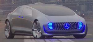Mercedes-Auto-de-Conducción-de-Pruebas