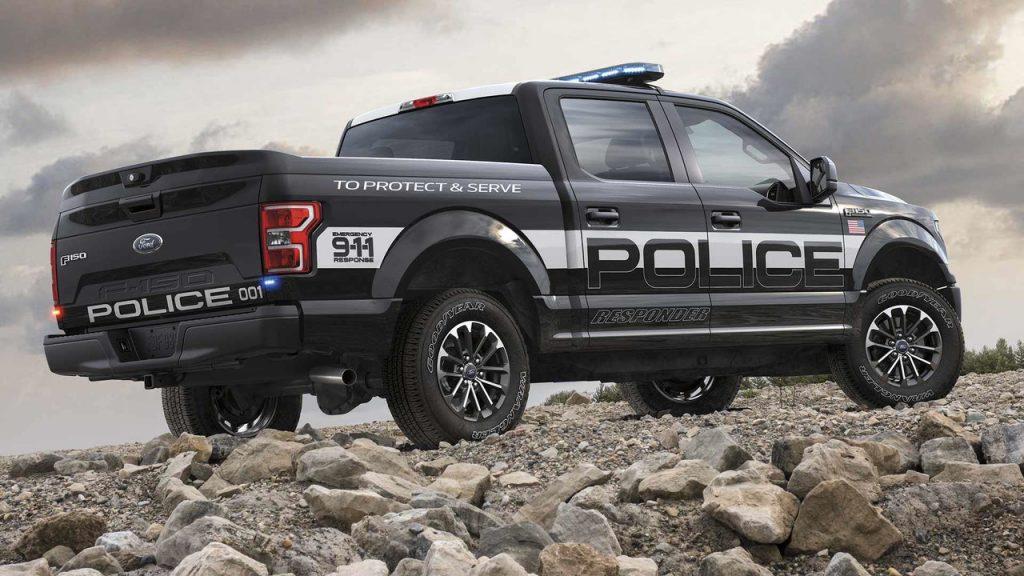 """Ford revela la """"F-150 Police Responder"""" la primera pick up ..."""