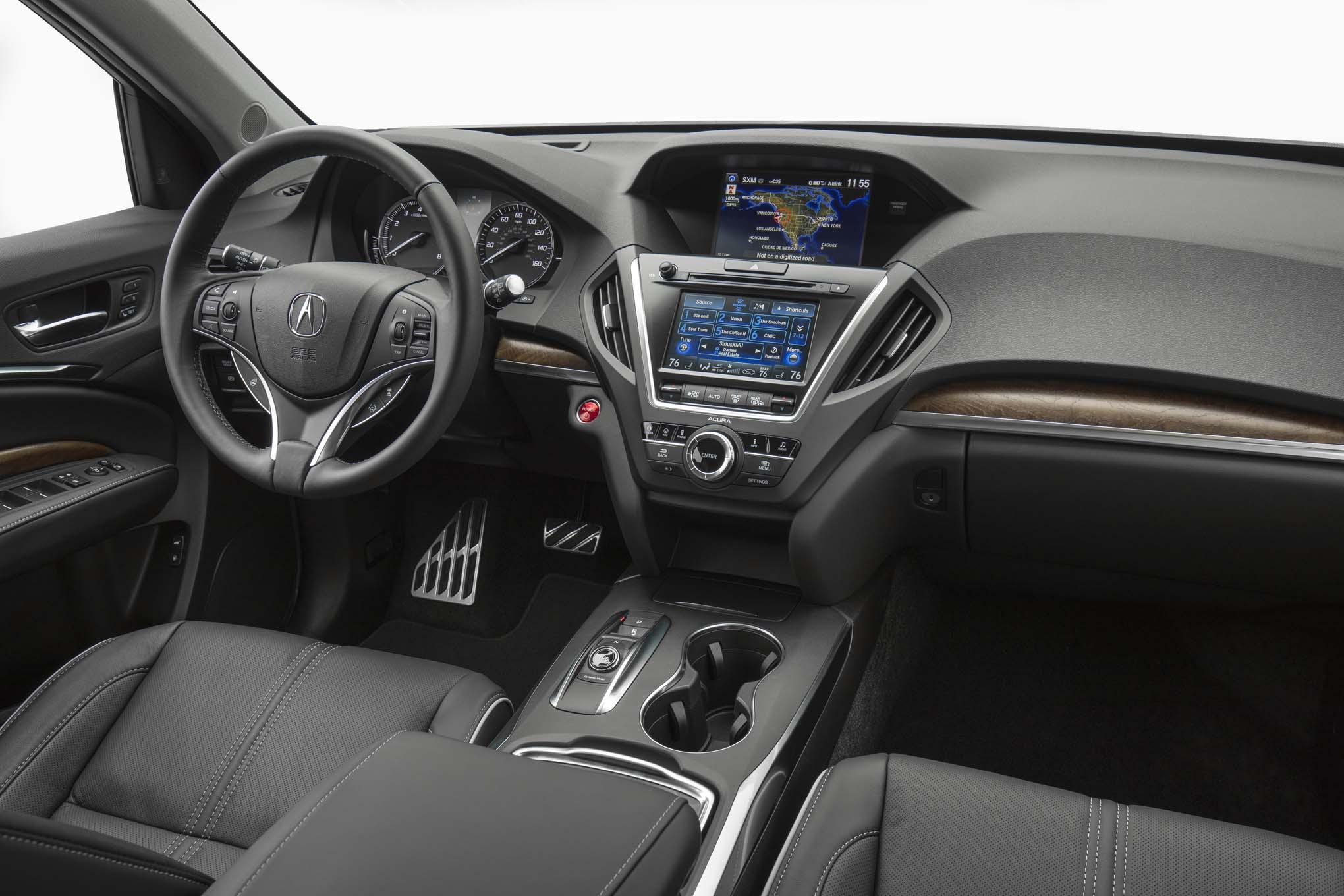 2017-Acura-MDX-Hybrid-interior-