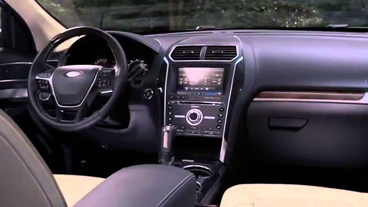 2017 ford explorer platinum dentro
